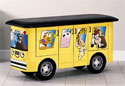 Pediatric Examination Table Zoo Bus with Jungle Friends - Clinton Industries