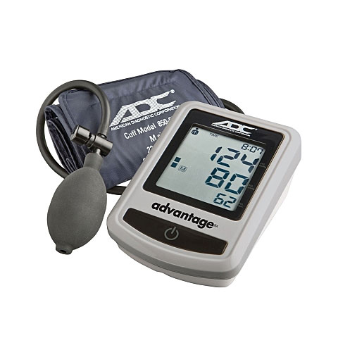 Advantage 6012 Semi-Automatic Electronic Blood Pressure Monitor- ADC