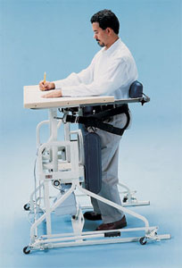 Hi-Lo Stand-in Table with Electric Patient Lift - Hausmann